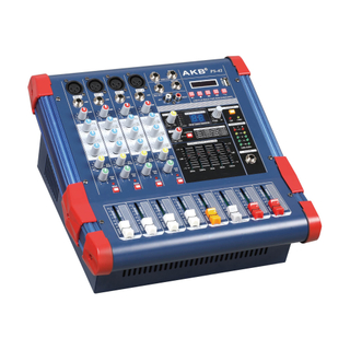 PS-42 Selling well all over the world MINI4 professional power dj music mixer amplifier machine