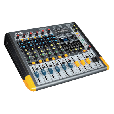 BM-EX8 8 channels audio power mixer