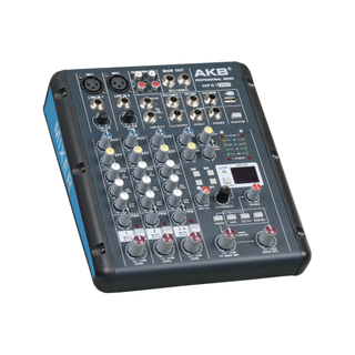MF41-DSP 4 channel sound dj mixer