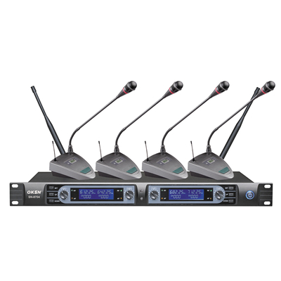 SN-8704 conference microphone system for meeting four mic