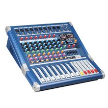 M-08 8 Channel Professional Digital Audio Music Mixer DJ Console